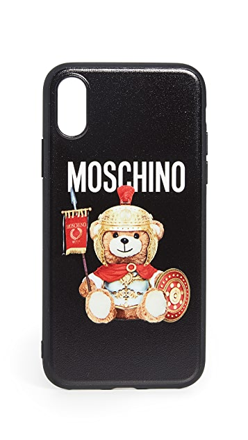 Moschino Roman Teddy iPhone XS / X Case