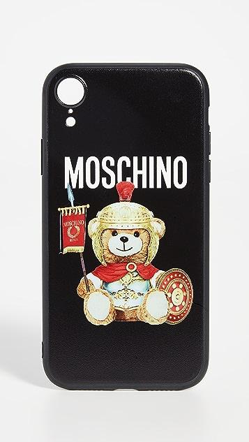 Moschino Roman Teddy iPhone XR Case