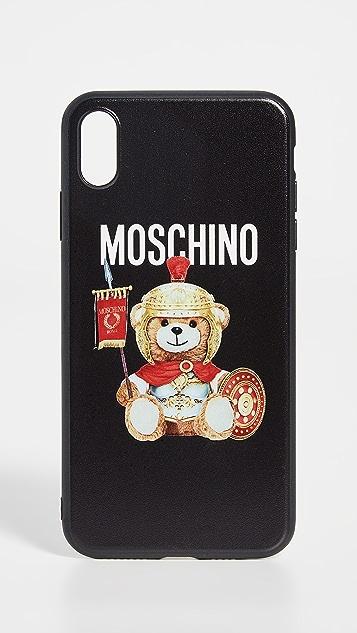 Moschino Roman Teddy iPhone XS Max Case