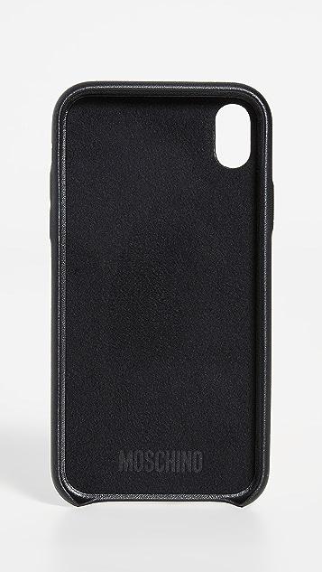 Moschino Lion Door Knocker iPhone XS Max Case