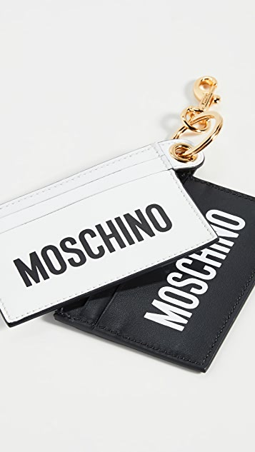 Moschino Double Card Case