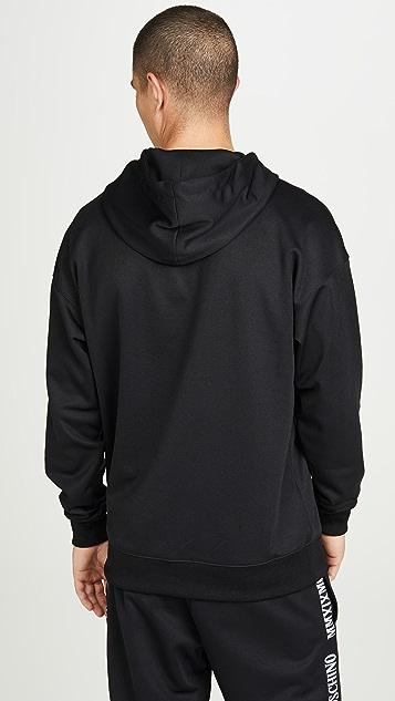 Moschino Roman Logo Pullover Hoodie