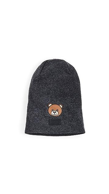 Moschino Logo Bear Beanie