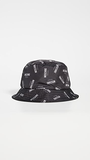 Moschino Logo Reversible Bucket Hat
