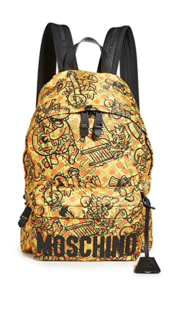 Moschino Fantasy Print Backpack