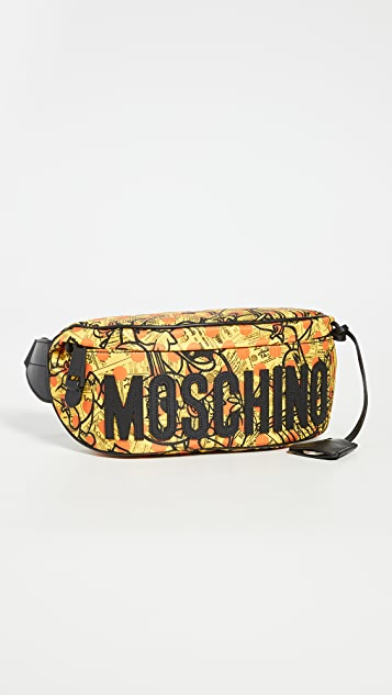 Moschino Fantasy Print Pouch