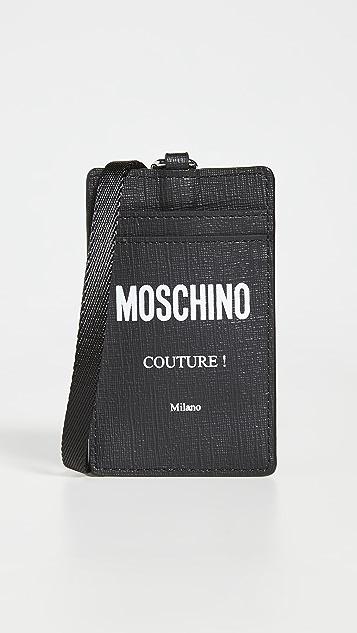 Moschino Mini Logo Wallet