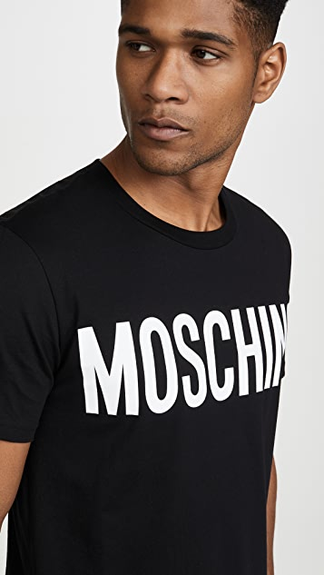 Moschino Big Logo Short Sleeve Tee