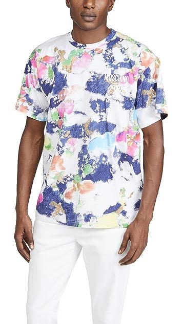 Moschino Watercolor T-Shirt