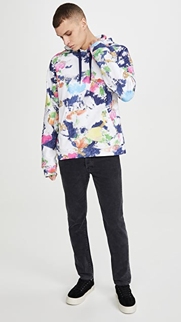 Moschino Watercolor Pullover Hoodie