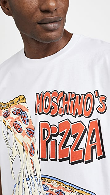 Moschino Moschino Pizza T-Shirt