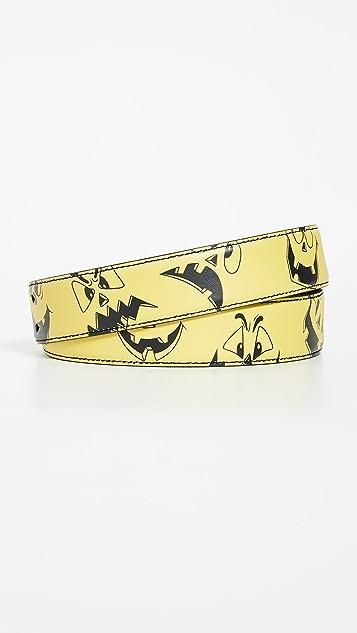 Moschino Printed Belt