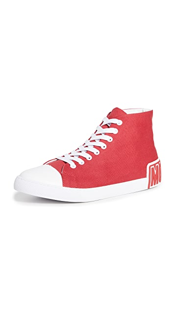 Moschino High Top Logo Sneakers
