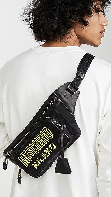 Moschino Logo Waist Bag
