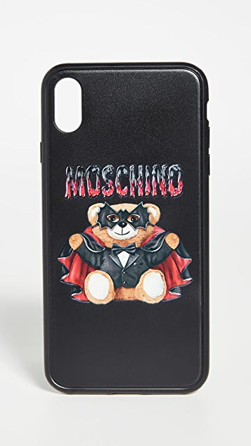 Moschino Teddy XS Max iPhone Case