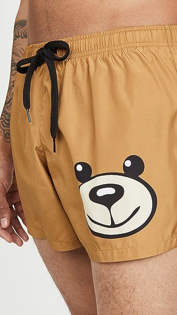 Moschino Moschino Bear Swim Trunks