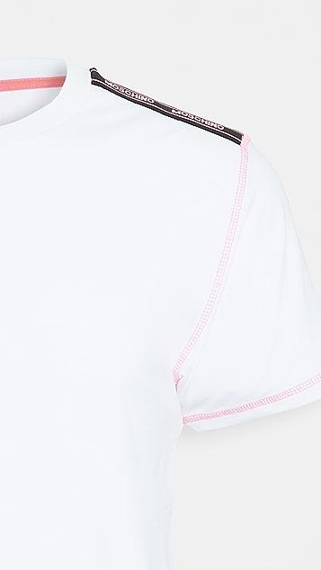 Moschino Neon Stitch T- Shirt