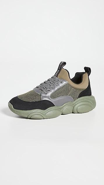 Moschino Fantasy Print Sneakers