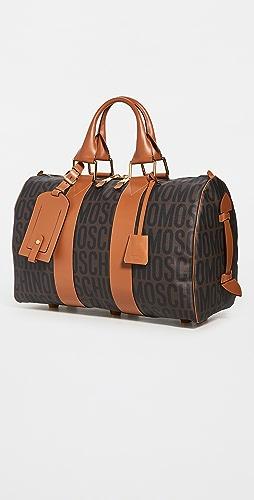 Moschino - Logo Print Travel Bag