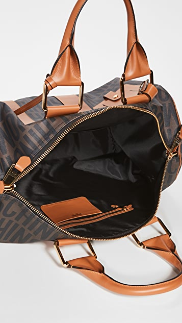 Moschino Logo Print Travel Bag
