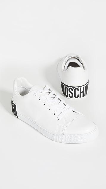 Moschino Logo Sneakers