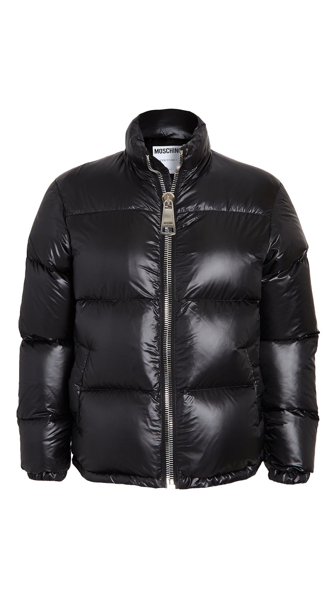 Big Zipper Puffer Jacket