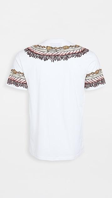 Moschino Tassel Logo Printed T-Shirt