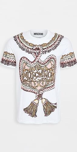 Moschino - Tassel Logo Printed T-Shirt