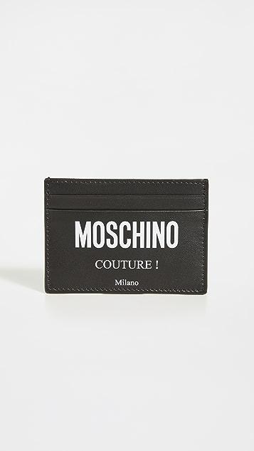 Moschino Moschino Couture Logo Card Case