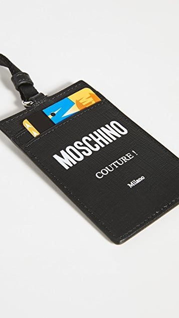 Moschino Moschino Couture Lanyard Card Case