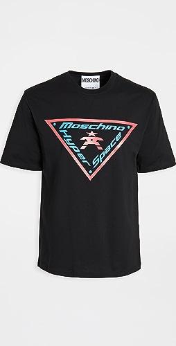 Moschino - Hyperspace Logo Tee Shirt