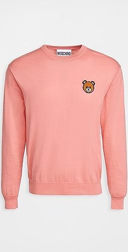 Moschino - Teddy Bear Crew Neck Sweater
