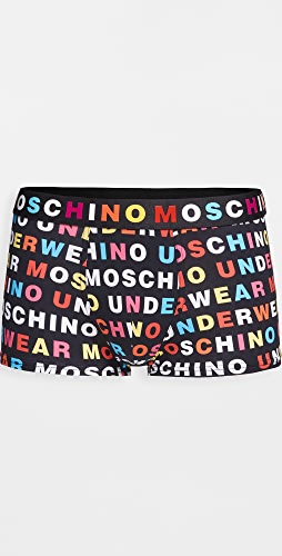 Moschino - Multicolor Logo Trunks