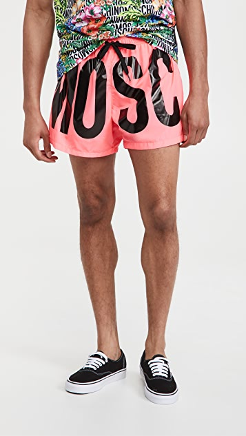 Moschino Max Logo Swim Suit