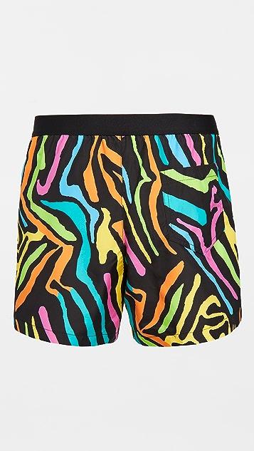 Moschino Zebra Swim Suit