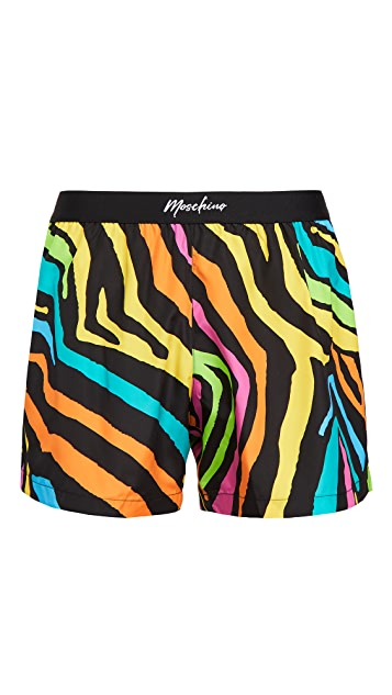 Moschino Zebra Swim Suit