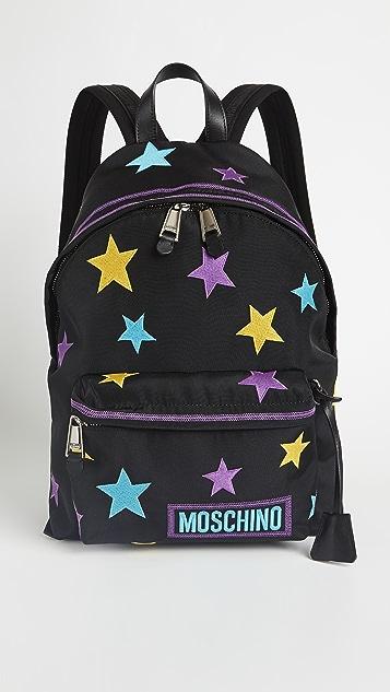 Moschino Star Backpack