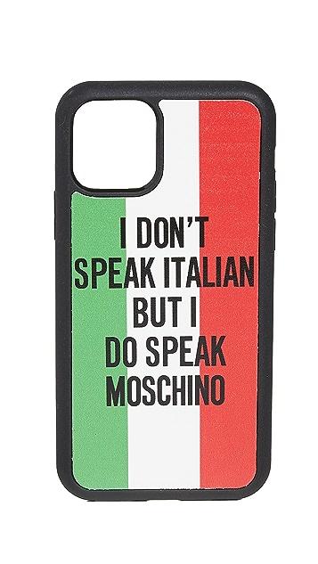 Moschino iPhone 11 Pro Case
