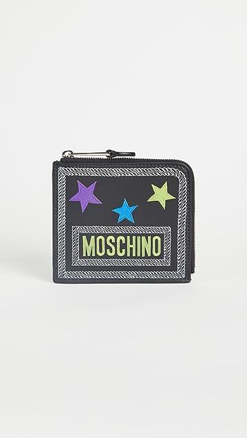 Moschino Star Wallet