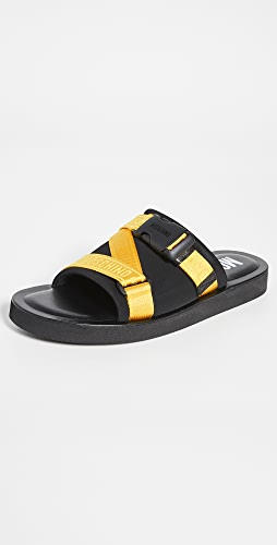 Moschino - Buckle Slides