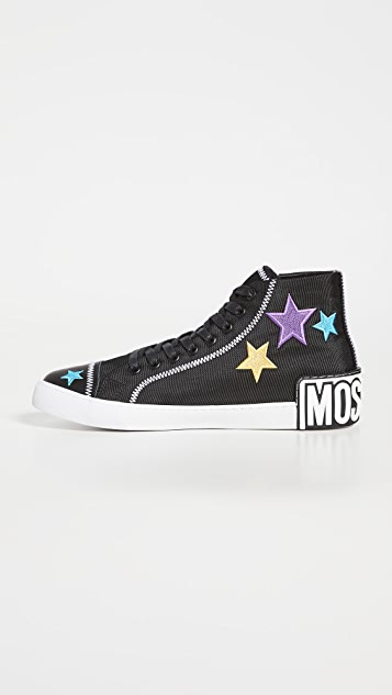 Moschino High Top Sneakers