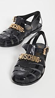 Moschino Rubber Fisherman Sandals