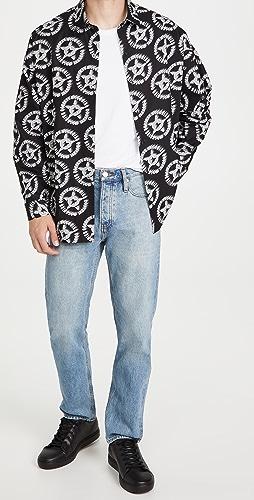 Moschino - Fantasy Print Poplin Button Down Shirt