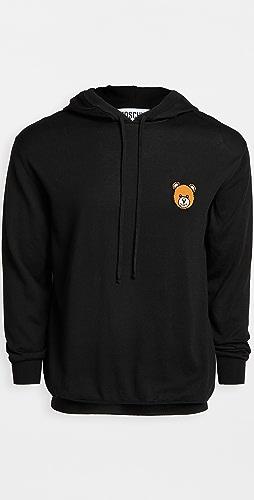 Moschino - Bear Logo Pullover Hoodie