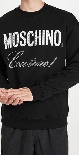 Moschino - Moschino Couture Crew Neck Sweatshirt