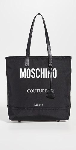 Moschino - Moschino Logo Nylon Tote