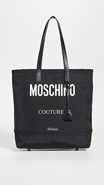 Moschino Moschino Logo Nylon Tote