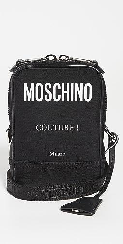 Moschino - Moschino Logo Nylon Crossbody