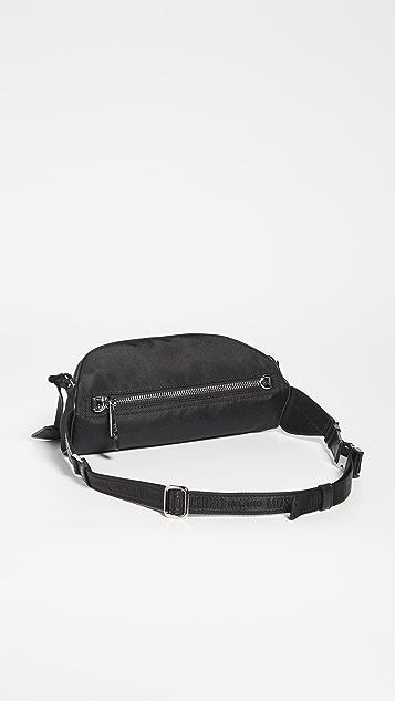 Moschino Moschino Logo Nylon Belt Bag