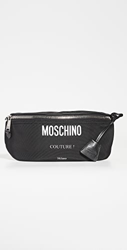 Moschino - Moschino Logo Nylon Belt Bag